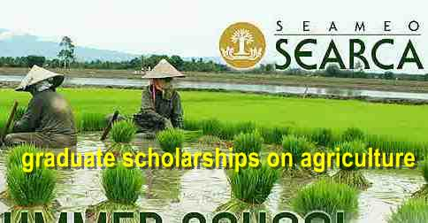 SEARCA Graduate Scholarship on Agriculture-for asian-study in asia