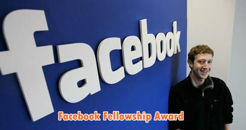 Facebook fellowship award-phd-program