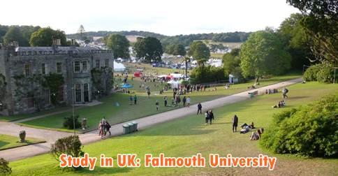 falmouth university international scholarships-study in UK