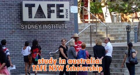 tafe nsw scholarships-study in australia for international students